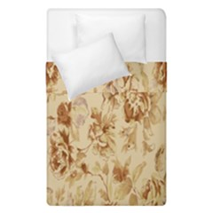 Patterns Flowers Petals Shape Background Duvet Cover Double Side (single Size) by Simbadda
