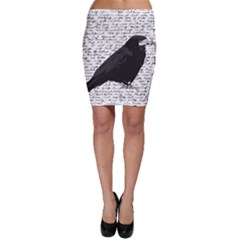 Black Raven  Bodycon Skirt by Valentinaart