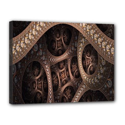 Patterns Dive Background Canvas 16  X 12  by Simbadda