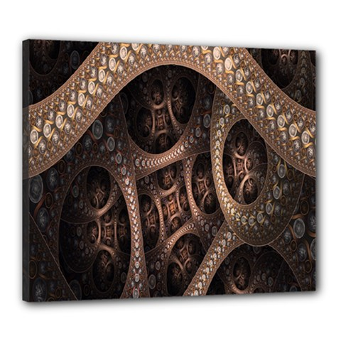 Patterns Dive Background Canvas 24  X 20  by Simbadda