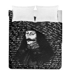 Count Vlad Dracula Duvet Cover Double Side (full/ Double Size) by Valentinaart