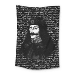 Count Vlad Dracula Small Tapestry by Valentinaart