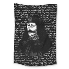Count Vlad Dracula Large Tapestry by Valentinaart