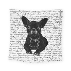 Cute Bulldog Square Tapestry (small) by Valentinaart