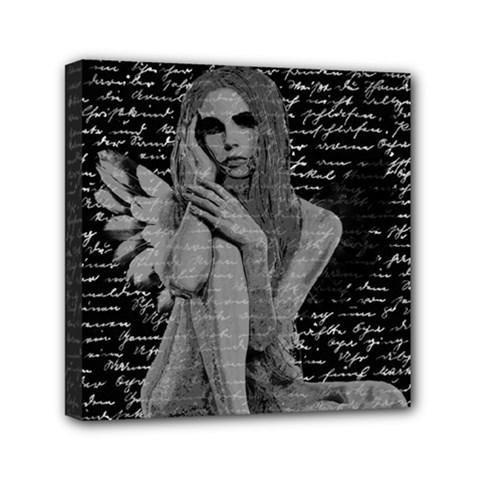 Angel Mini Canvas 6  X 6  by Valentinaart