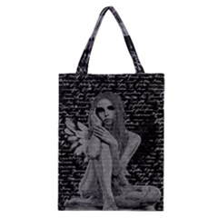 Angel Classic Tote Bag by Valentinaart