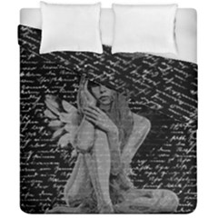 Angel Duvet Cover Double Side (california King Size) by Valentinaart