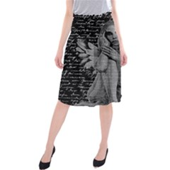 Angel Midi Beach Skirt by Valentinaart