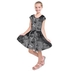 Angel  Kids  Short Sleeve Dress by Valentinaart