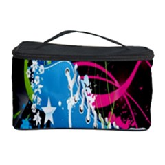 Sneakers Shoes Patterns Bright Cosmetic Storage Case by Simbadda