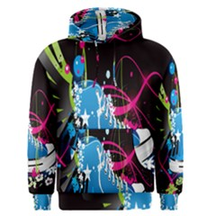 Sneakers Shoes Patterns Bright Men s Pullover Hoodie