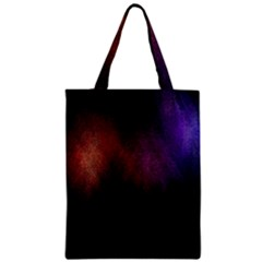 Point Light Luster Surface Zipper Classic Tote Bag