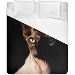 Sphynx Cat Duvet Cover (california King Size) by Valentinaart
