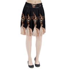 Sphynx Cat Pleated Skirt