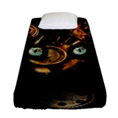 Sphynx Cat Fitted Sheet (single Size) by Valentinaart