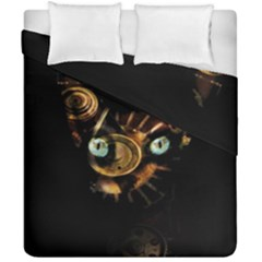 Sphynx Cat Duvet Cover Double Side (california King Size) by Valentinaart