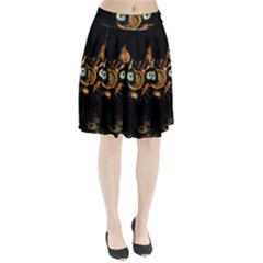 Sphynx Cat Pleated Skirt