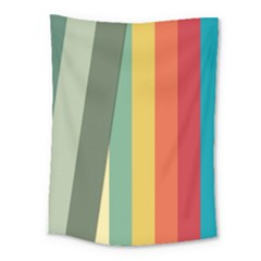 Texture Stripes Lines Color Bright Medium Tapestry by Simbadda