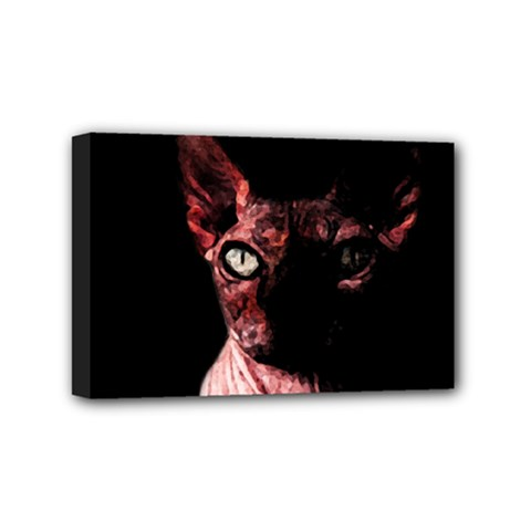 Sphynx Cat Mini Canvas 6  X 4  by Valentinaart