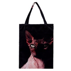 Sphynx Cat Classic Tote Bag by Valentinaart