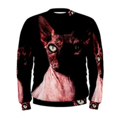 Sphynx Cat Men s Sweatshirt by Valentinaart