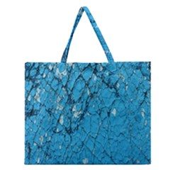Surface Grunge Scratches Old Zipper Large Tote Bag by Simbadda