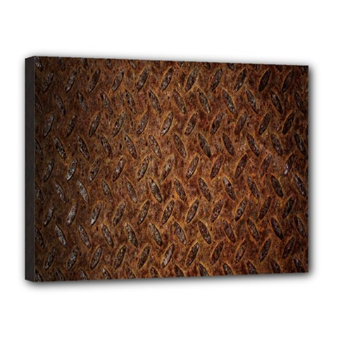 Texture Background Rust Surface Shape Canvas 16  X 12  by Simbadda
