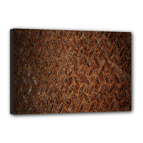 Texture Background Rust Surface Shape Canvas 18  X 12  by Simbadda