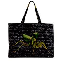 Mantis Medium Tote Bag by Valentinaart