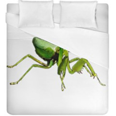 Mantis Duvet Cover (king Size) by Valentinaart