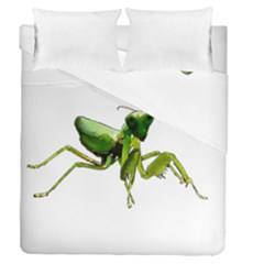 Mantis Duvet Cover Double Side (queen Size) by Valentinaart