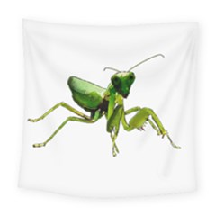 Mantis Square Tapestry (large) by Valentinaart