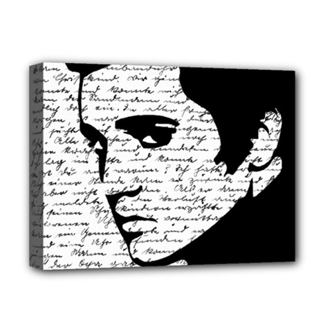 Elvis Deluxe Canvas 16  X 12   by Valentinaart