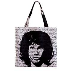 Morrison Zipper Grocery Tote Bag by Valentinaart