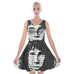 Morrison Velvet Skater Dress by Valentinaart