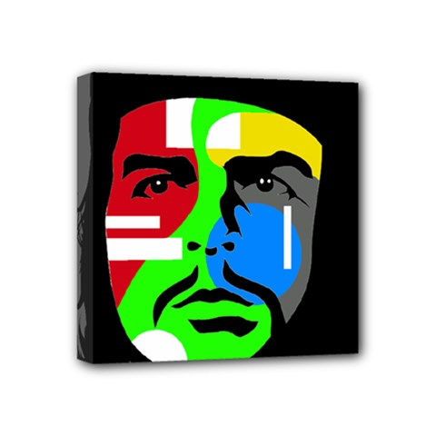 Che Guevara Mini Canvas 4  X 4  by Valentinaart