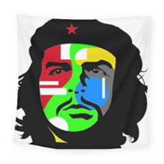 Che Guevara Square Tapestry (large) by Valentinaart
