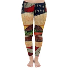 Hamburger Classic Winter Leggings by Valentinaart