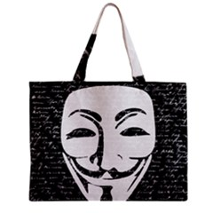 Antonymous   Zipper Mini Tote Bag by Valentinaart