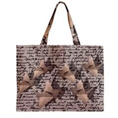 Paper Cranes Zipper Mini Tote Bag by Valentinaart