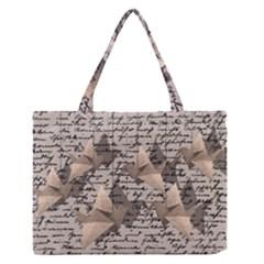Paper Cranes Medium Zipper Tote Bag by Valentinaart
