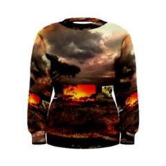 Africa Women s Sweatshirt by Valentinaart