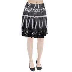Pi Pleated Skirt by Valentinaart