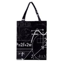 School Board  Classic Tote Bag by Valentinaart