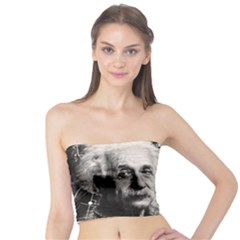 Albert Einstein Tube Top by Valentinaart