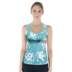 Pattern Racer Back Sports Top by Valentinaart