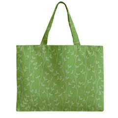 Pattern Zipper Mini Tote Bag by Valentinaart