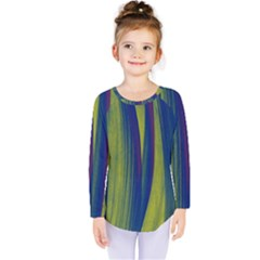 Pattern Kids  Long Sleeve Tee by Valentinaart