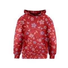 Floral pattern Kids  Pullover Hoodie