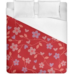 Floral pattern Duvet Cover (California King Size)